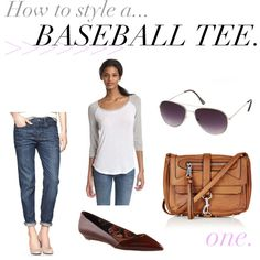 jillggs good life (for less) | a style blog: how to style a baseball tee!