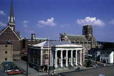 library and old post office,,, Pennsylvania Ave,,,Greensburg pa