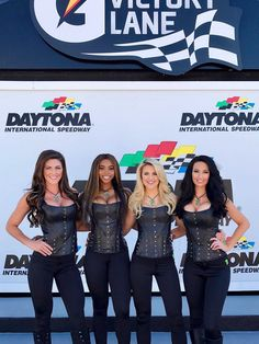 NASCAR Monster Energy Girls are here to stay. However, some very sad people aren't at all happy about the new NASCAR victory lane girls. Filles Monster Energy, Monster Energy Girls, Monster Girl, Grid Girls, Triumph Motorcycles, Mopar, Promo Girls, Umbrella Girl, Shopping