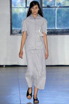Zero + Maria Cornejo Spring 2016 Ready-to-Wear Fashion Show (top)