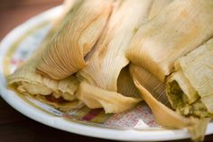 My Favorite Tamal of All Time: Chicken in Green Salsa Tamales from @Pati Jinich