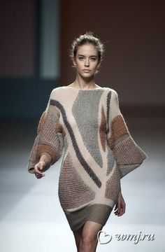 Выбираем вязаное платье: как одеться красиво и тепло | www.wmj.ru