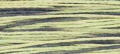 HOSTA 1251  : Weeks Dye Works WDW hand-dyed embroidery floss cross stitch thread at thecottageneedle.com         by thecottageneedle