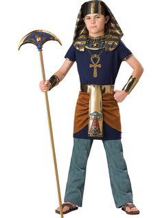 Disfraz de faraón triunfante para niño