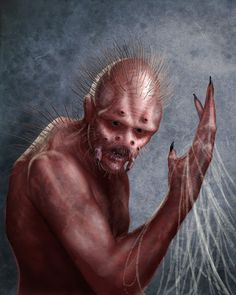 Human spider hybrid by Blunderbolt