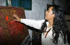 Image result for museo templo del sol pintor ortega maila pululahua