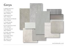 Grey tiles can create a neutral or modern look | londontile.co.uk