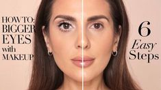 HOW TO MAKE YOUR EYES LOOK BIGGER IN 6 EASY STEPS | ALI ANDREEA - YouTube