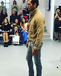 #londonfashionweek #davidgandy #fashionblog #uae #ad #dxb #london #mensfashion #canada #oliverspencer #fashionshow #2016 #sissythatwalk @davidgandy_official