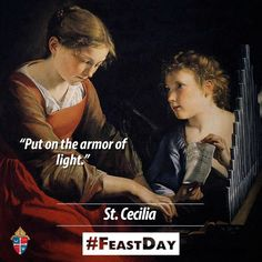 Happy #FeastDay of St. Cecilia, patroness of musicians! #pray4us