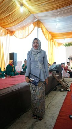 Outif kebaya for wedding party #bride #bridemaid
