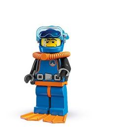 Lego minifigure Scuba Diver