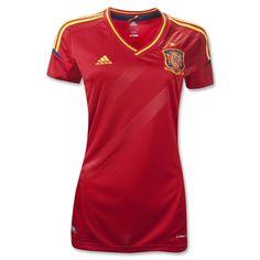 Spain 11/13 Home Women's Soccer Jersey