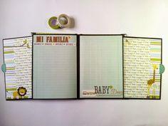 Mini álbum bebé - Nacho
