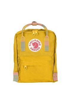 Fjallraven Kanken Mini Backpack Warm Yellow-Random Blocked - Fjallraven  Kanken 9c5b29e48d8cb