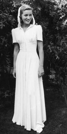 Edith Bouvier Beale aka 'Little Edie' - 1930s - Hooded Gown - @~ Watsonette