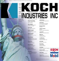 Koch Bros defend corp practice of lying & cover-ups - spending $22million on ads to defend Exxon's printing of climate-denial ads even while internal memos show they knew about climate warming & that it was likely man made. http://www.ecowatch.com/koch-brothers-continue-to-fund-climate-change-denial-machine-spend-21m-1891180152.html http://www.dailykos.com/story/2016/06/21/1541070/-Koch-Fronts-Defend-ExxonMobil-s-Denial-of-Climate-Change-Science-in-Full-Page-New-York-Times-Ad