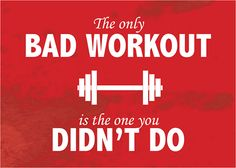 """Health Motivation """"BAD WORKOUT"""" Motivational Inspirational Sayings Poster [Multiple Sizes] in Home Fitness Quotes, Fitness Tips, Health Fitness, Fitness Exercises, Fitness Foods, Stomach Exercises, Boxing Fitness, Dumbbell Exercises, Fitness Humor"""