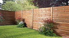 Garden Design Ideas On A Budget, Modern Landscaping, Fence Design, Outdoor Structures, Patio, Landscape, Wood, Outdoor Decor, Home Decor