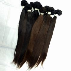 Aliexpres Cheap price hair mixed lengths 4PCS unprocessed raw indian mocha virgin hair cabelo humano hair product extension