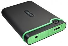 Transcend Storejet 25M3 Series - 500GB external hard drive.