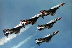 Open house Air Shows...F4 Phantoms of the USAF Thunderbirds... My favorite of all jets...