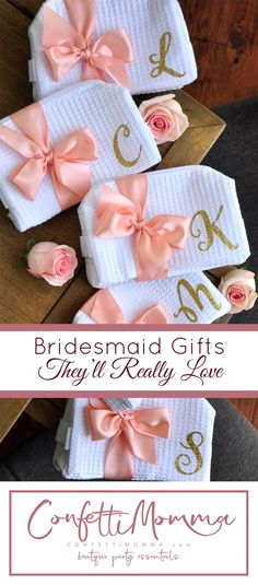 This Bridesmaid Gift Cosmetic Bag makes the perfect gift for your bridal party that they will use over and over again. They can use this cosmetic bag personalized to hold makeup or toiletries on your special day. Gifts For Wedding Party, Party Gifts, Wedding Favors, Our Wedding, Dream Wedding, Party Favors, Wedding Ideas, Bridal Gifts, Wedding Hangers