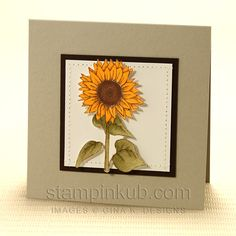 Another great sunflower card