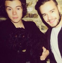 Harry and Liam today