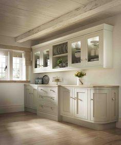Laura ashley range country style kitchen by hehku country Kitchen Cabinets Brands, Kitchen Wall Units, Kitchen Cabinets Pictures, Barn Kitchen, Kitchen Cabinet Styles, Country Kitchen, New Kitchen, Kitchen Decor, Kitchen Ideas