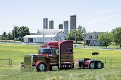 Peterbilt 379, Peterbilt Trucks, Big Rig Trucks, Semi Trucks, Lifted Trucks, Custom Big Rigs, Custom Trucks, Transportation Design, Tandem