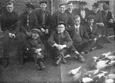 The Gophers: Hell's Kitchen's most brutal gang. Owney Madden, fourth from left in this 1910 gang photo, earned a rep as one of the most brutal Gopher leaders. Nicknamed The Killer, he's responsible for numerous deaths of other gang members, especially from the rival Hudson Dusters. After serving time in Sing Sing, he became a bootlegger and co-owner the Cotton Club, Harlem's flashy club in the 1920s.