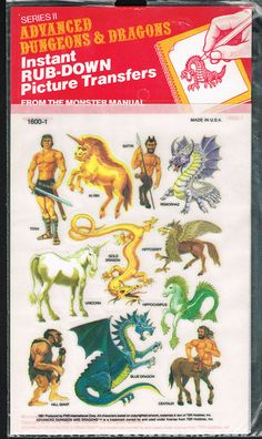 Advanced Dungeons And Dragons Picture Transfers, 1981 Dungeons And Dragons Art, Dungeons And Dragons, Dungeon, Advanced Dungeons And Dragons, Dnd Monsters, Fantasy Creatures, Dragon Pictures, Greek Mythology Art, Dragon