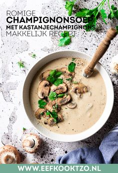 Food L, Good Food, Clean Recipes, Soup Recipes, Superfood, Risotto, Food Photography, Food And Drink, Appetizers