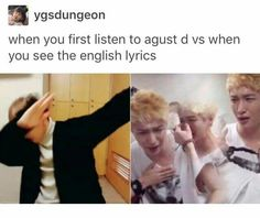 Damn Agust D  Feels