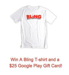 BLING Giveaway!