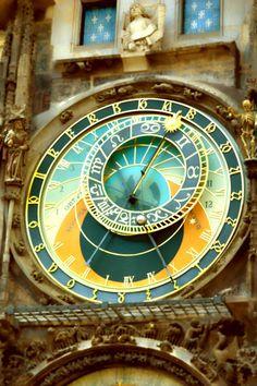 tonyvatphotography:  Amazing Tower Clock. Prague ©TonyVattappillil