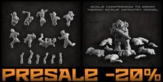 Sets of corpses are finally available. Only till the end of the week you can get them in presele with 20% discount: https://puppetswar.eu/product.php?id_product=776 https://puppetswar.eu/product.php?id_product=777