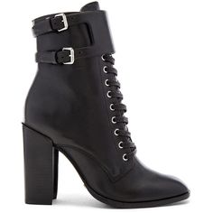 Schutz Makayla Boot ($285) ❤ liked on Polyvore featuring shoes, boots, ankle booties, ankle boots, booties, lace-up booties, high heel ankle booties, short lace up boots, lace-up ankle booties and laced up ankle boots