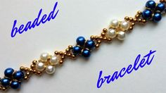 Beaded bracelet with pearls and jump rings. Beading tutorial-easy to make, Beaded bracelet with pearls and jump rings. Beading tutorial-easy to make Beaded bracelet with pearls and jump rings. Beading tutorial-easy to make. Making Bracelets With Beads, Diy Bracelets Easy, How To Make Necklaces, Diy Jewelry Making, Bracelet Making, Handmade Bracelets, Bead Jewellery, Beaded Jewelry, Beaded Bracelets