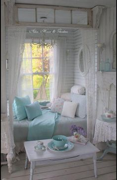 8 Simple and Ridiculous Tricks: Shabby Chic Bedding Pictures shabby chic design colour schemes.Shabby Chic Home Kitchens shabby chic kitchen red. Casas Shabby Chic, Shabby Chic Interiors, Shabby Chic Living Room, Shabby Chic Bedrooms, Shabby Chic Kitchen, Shabby Chic Cottage, Shabby Chic Homes, Shabby Chic Furniture, Trendy Bedroom