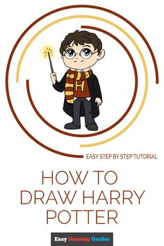 potter harry draw easy drawing step drawings tutorial really easydrawingguides learn cartoon