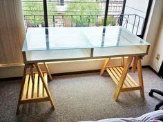Linnmon finnvard table gray beech ikea: art table florida