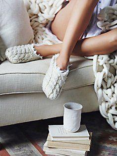 Snowcaps Slipper Sock