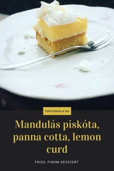 Friis, tavaszi desszert, joconda piskóta, panna cotta és lemon curd..hhmmmm