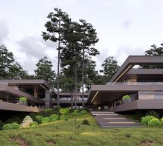 Project villa / 813 #romanvlasov #architecture #archilovers #modern #modernhouse #design #concept #luxury #luxuryhomes #villa #house