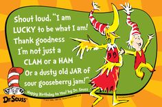 Eight Beautiful Life Lessons from Dr Seuss