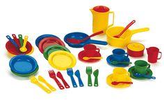 Ensemble de 4 couverts Pots, Catalogue, Measuring Cups, Childhood, Office Supplies, Bb, Kitchen Nook, Infancy, Tableware