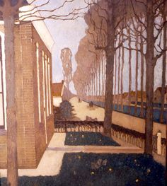 Jan Mankes-De Knijpe - List of Dutch painters - Wikipedia Dutch Painters, Dutch Artists, Museum Of Modern Art, Sculpture, Online Art, Les Oeuvres, Landscape Paintings, Landscape Art, Amazing Art
