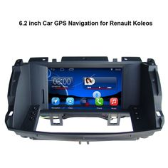 6.2 inch Android Car GPS Navigation for Renault Koleos Car Video Player Support WiFi Bluetooth Mirror-link